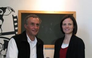 Rolf Zuppelli und Ines Vielhaben
